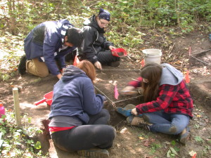 10 October University of Western Ontario archaeological field school