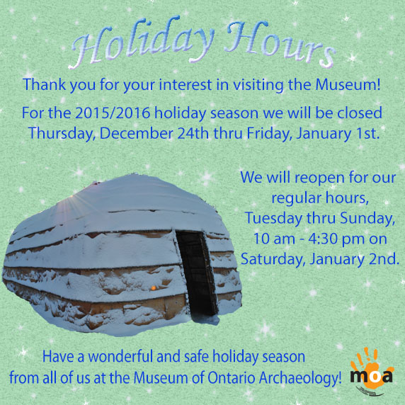 201516 Holiday Hours