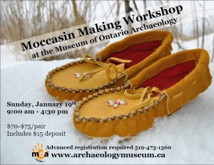 January moccasin workshop