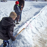 Snowsnake, a favorite March Break Activity