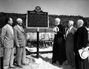 WIlfrid Jury at St Ignace II 1960