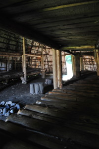 longhouse interior