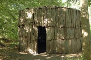 elm bark longhouse