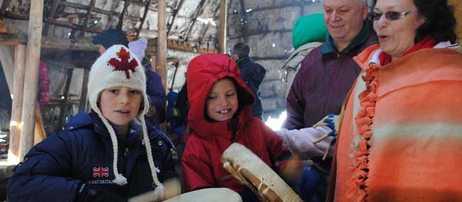 Drumming in the Longhouse