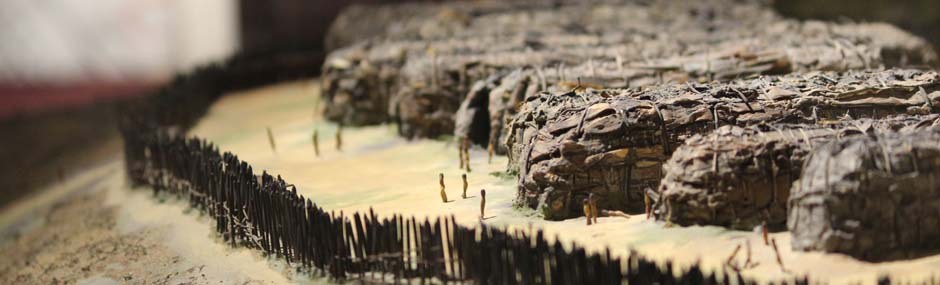 Longhouse miniature