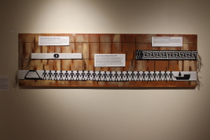 Wampum belts 1812 exhibit
