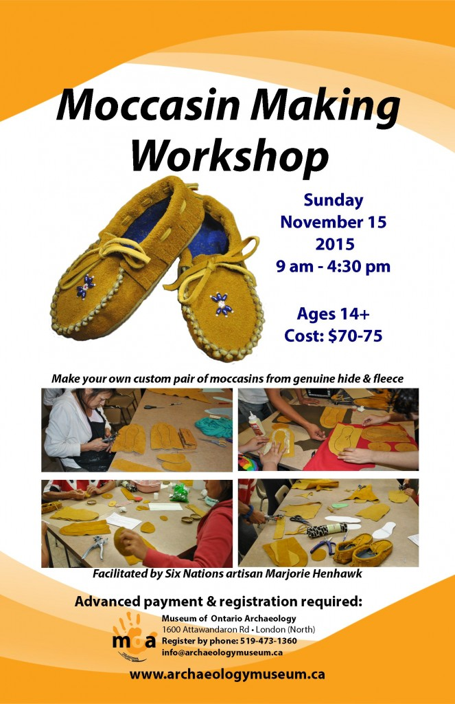 Moccasin Workshop Nov 15 2015