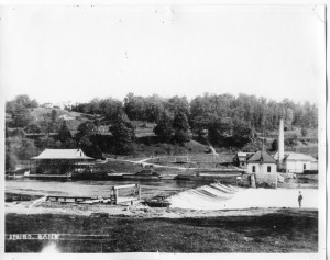 London Parks - Springbank Park including Northern Hotel 1880