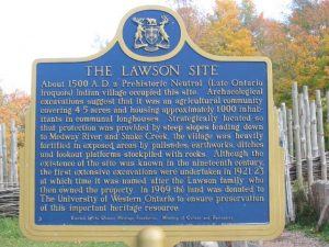 Lawson Site Provincial Heritage Sign