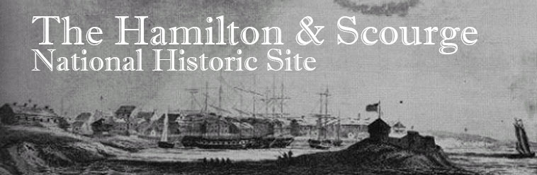 Banner for the Hamilton Scourge National Historic Site