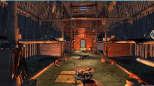 Interior of the Longhouse