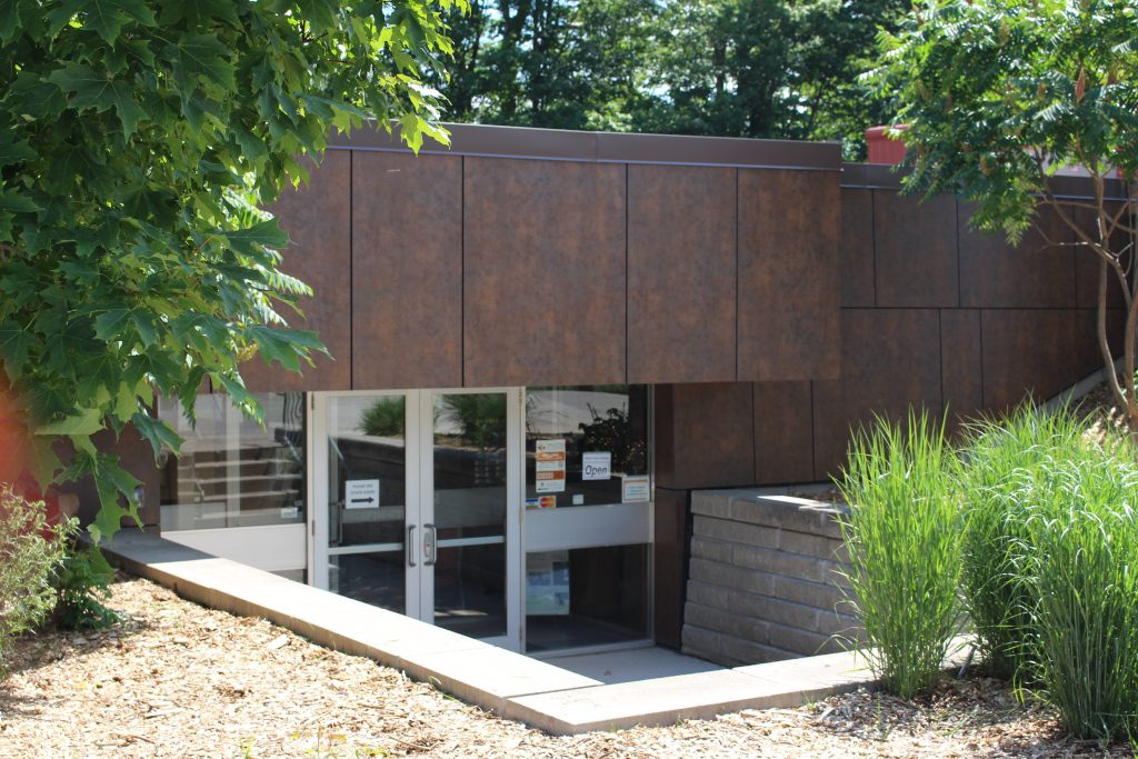 Museum of Ontario Archaeology Main Entrance in Summer