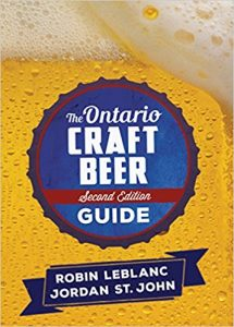 Book cover fo Ontario's Craft Beer Guide.